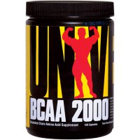 Universal Nutrition BCAA 2000, 120 капс.
