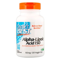 Doctor's Best Alpha-lipoic acid 150 мг 120 капсул