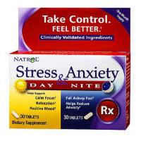 Natrol Stress & Anxiety Day & Night 30+30tab
