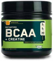 Optimum Nutrition BCAA + Creatine – Апельсин 740гр