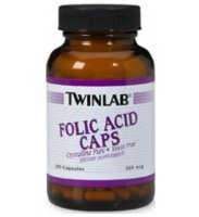 Twinlab Folic Acid 200 Caps