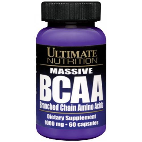 Ultimate Nutrition  BCAA 1000 mg  60 caps