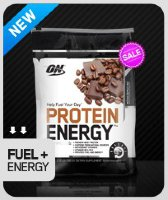Optimum Nutrition 100% Protein Energy 800 гр.