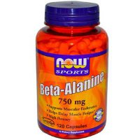 NOW Beta-Alanine 750мг 120кап