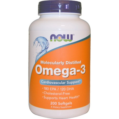 NOW Omega 3 1000мг. 100капс.