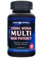 BodyStrong Woman Multi High Potency 90 tab