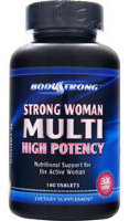 Body Strong Strong Woman Multi - High Potency 180tab