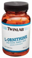 Twinlab L-Ornithine  500 mg  100caps