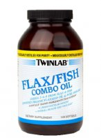 Twinlab Flax Fish Combo Oil 120 caps