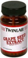 TwinLab grape seed extract 50 мг 60 caps