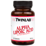 Twinlab Alpha Lipoic Acid 100 mg 60caps