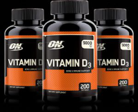 Optimum Nutrition Vitamin D 200 капс.