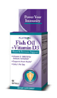 Natrol Fish Oil & Vitamin D3 90