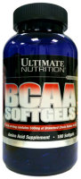 Ultimate Nutrition BCAA Softgels 180 капс