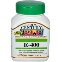 21st Century Vitamin E 400 Blended 110 Softgels