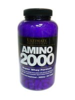 Ultimate Nutrition Whey Amino 2000 330таб