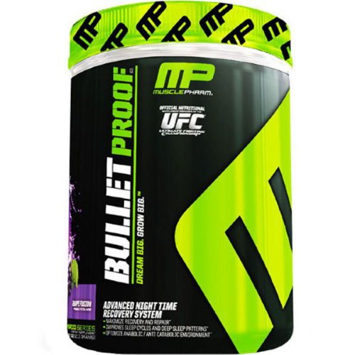 MusclePharm Bullet Proof  412 г. Bullet Proof – продвинутая система для восстановления во время сна.