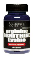 Ultimate Nutrition Arginine-Ornitine-Lysine 100 Caps