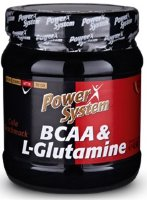 Power System BCAA L-Glutamine 450гр.
