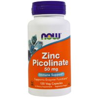 NOW Zink Picolinate 50mg 120 caps