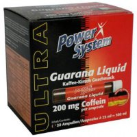 PowerSystem Guarana Liquid 20 ампул 200мг. 25мл.