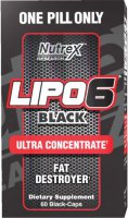 Nutrex Lipo-6 Black  Ultra Concentrate  60 капс.